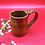 Thumbnail: Light Brown Stoneware Mug with Thumb Rest - only 1 available