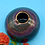 Thumbnail: Gray and Purple Swirl Stoneware Vase - only 1 available