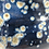 Thumbnail: Deep Blue 'Cut Out' Vase With Yellow Crystal Specks - only 1 available