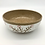 Thumbnail: Tan, White, and Red Stoneware Bowl - only 1 available