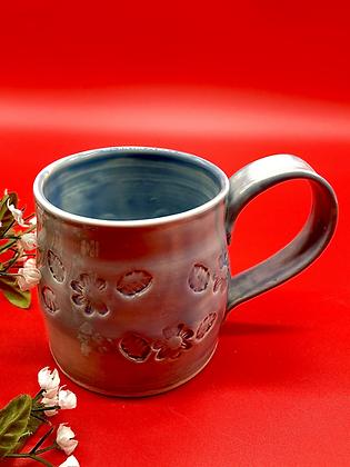 Light Blue Stoneware Mug - only 1 available