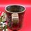 Thumbnail: Brown, Blue, Tan Stoneware Mug - only 1 available
