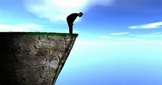 Why is transition to adulthood seen as a cliff edge?