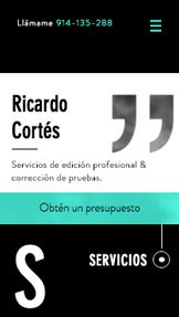 Escritores website templates – Editor