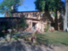 Library at ghost ranch. The only place w