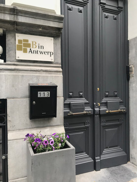 B in Antwerp - Entrance