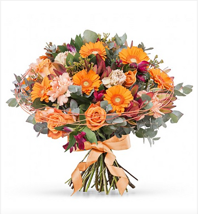 Bouquet of assorted fresh flowers