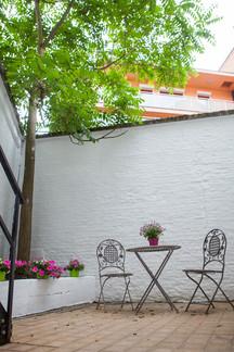 B in Antwerp - Terrace