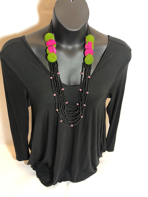 MiMi Necklace & Stud Earrings