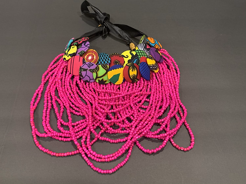 Hauteness Beaded Necklace