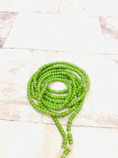 Glorious Green Beads