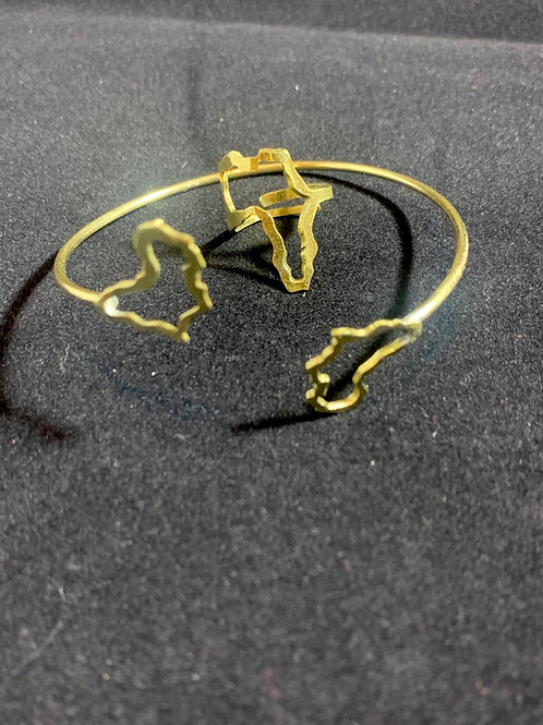 Queenin Set (Bracelet & Ring)