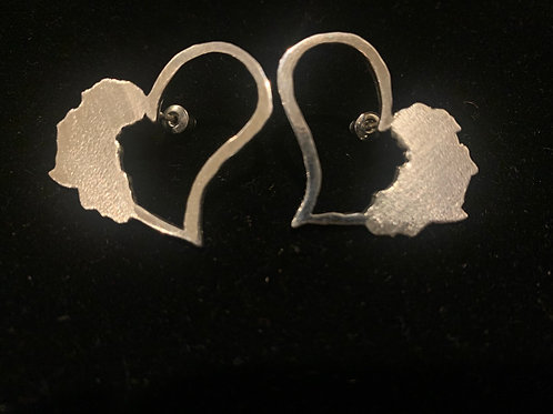 Heartland Studs (Sterling Silver)