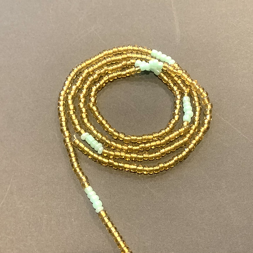Golden Mint Beads