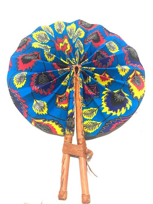 Autumn Blue Fan