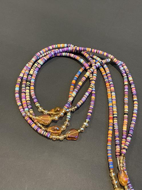 Lavender Kalimba Story Beads