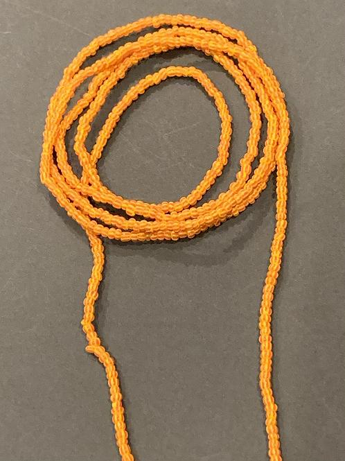 Orange Moon Beads