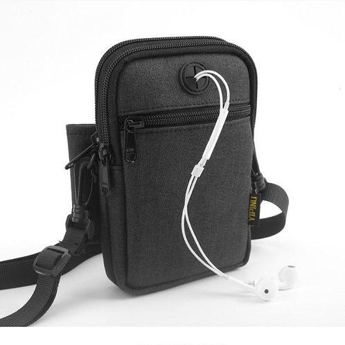Mini Crossbody Travel Messenger Bag (Waterproof USB Charging ability)