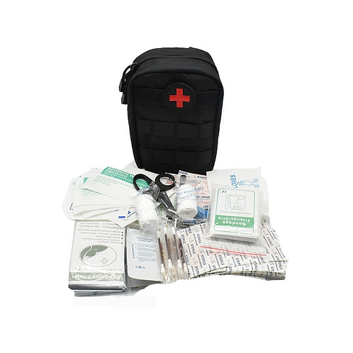103PC First Aid Tactical Medical/Emergency Kit with Travel Bag