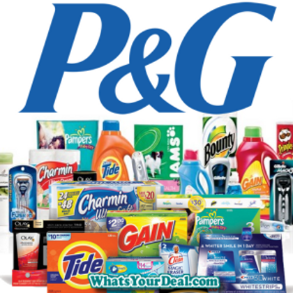 December P&G with Tide: 10 inserts Can't combine states-Read B