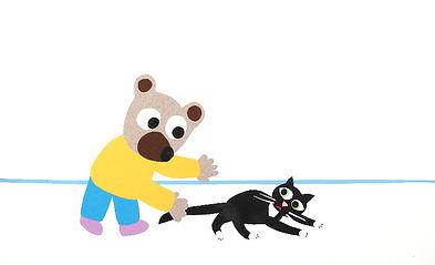 Pierrick Bisinski woodykidsgalerie cadeau naissance enfant dessin original