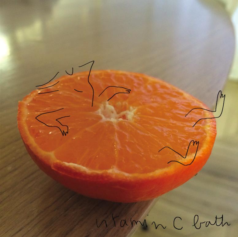 Vitamin C bath
