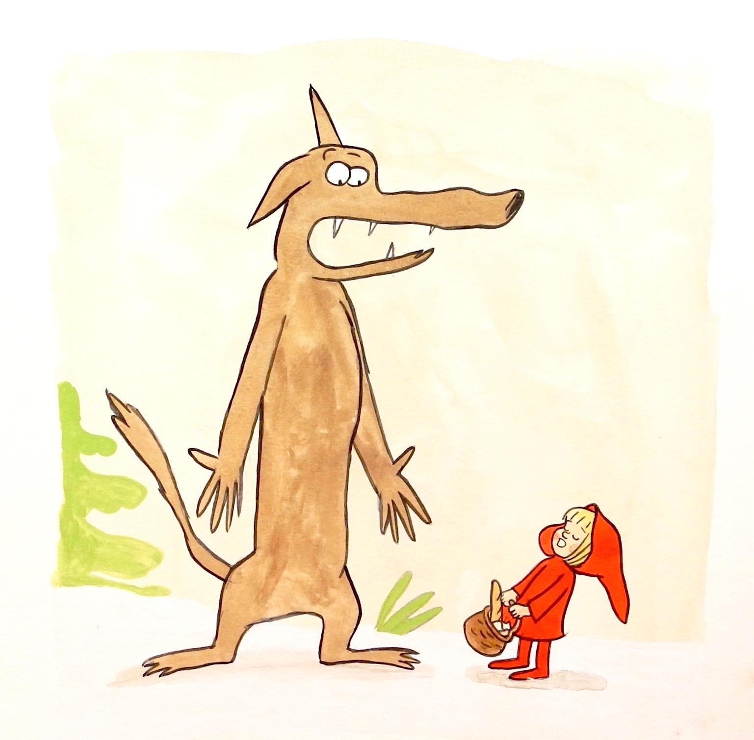 Le Loup et le chaperon 1