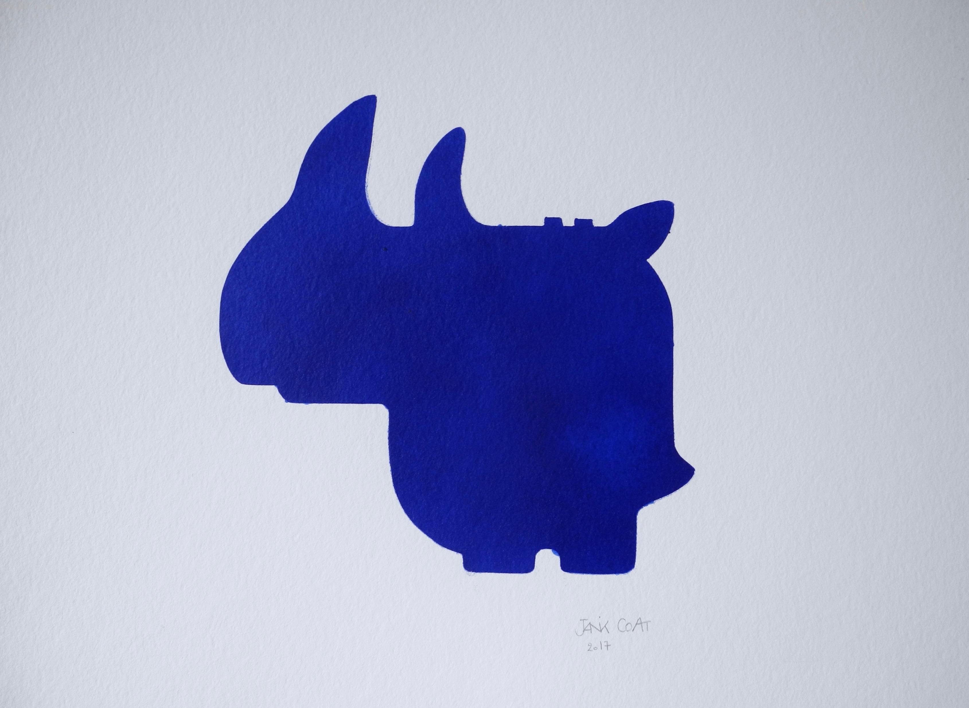 Romi bleu
