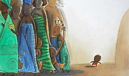 Illustration originale Nathalie Dieterlé cadeau enfant Woodykids galerie