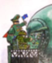 Pef,woodykidsgalerie,illustration,originale,achat,vente