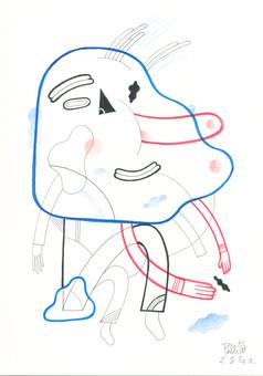 Pablito Zago dessin 1