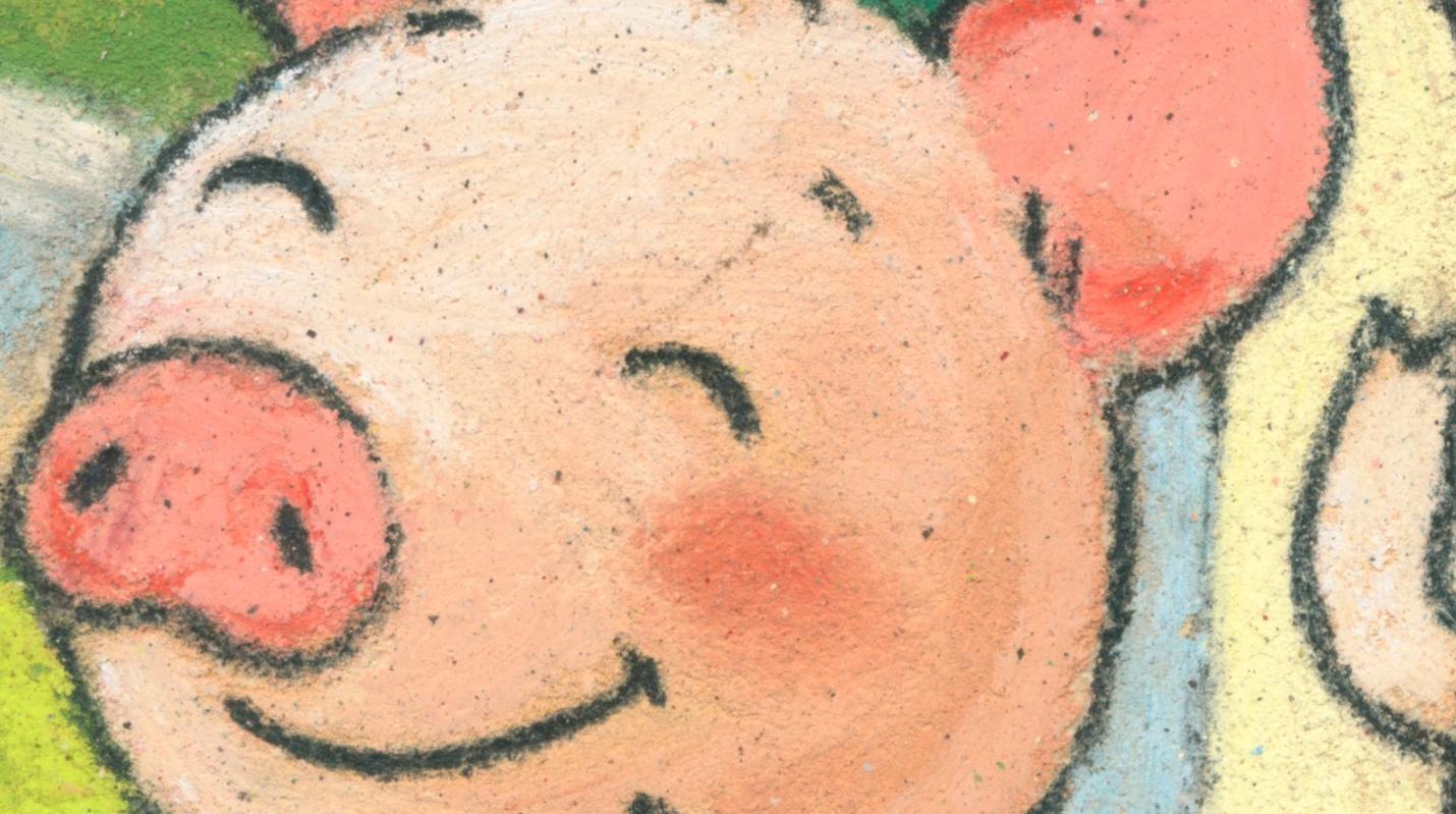 Les trois petits cochons (zoom)