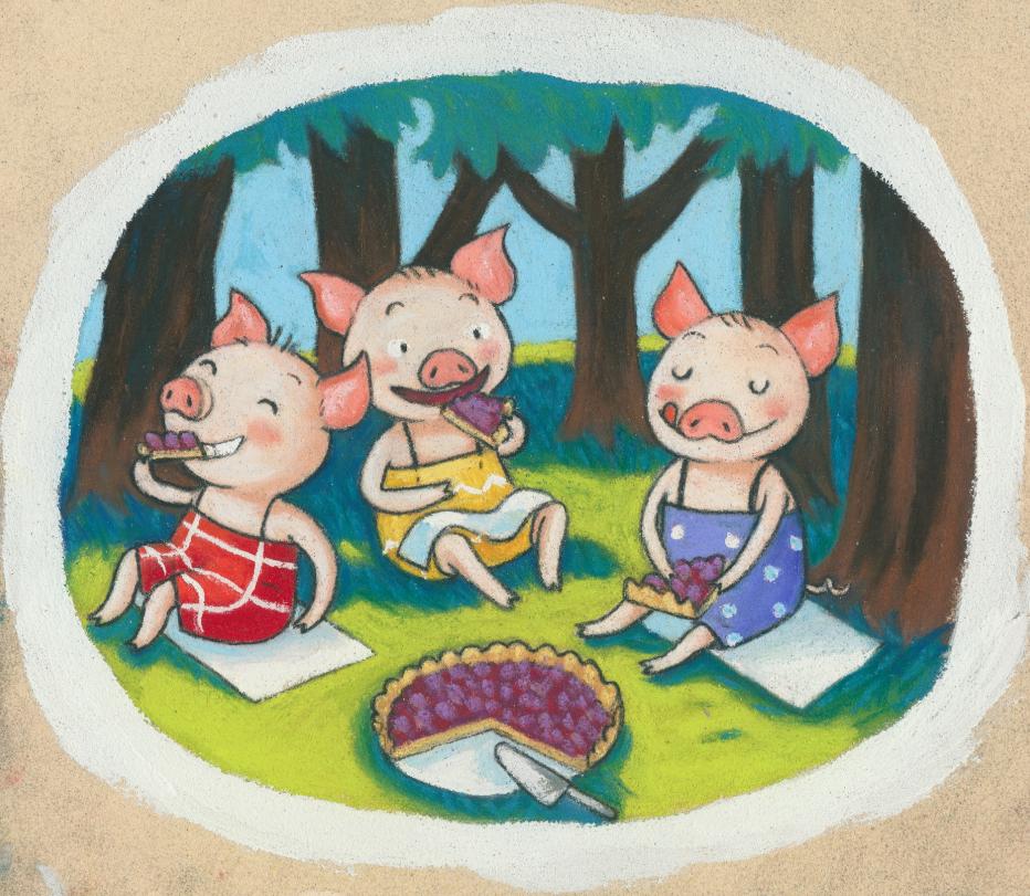 """""""Les trois petits cochons"""" n°2"""