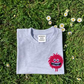 T-shirt Genevieve Gauckler                         Pink Monster.