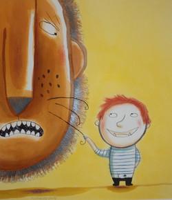 Le lion et le petit ogre