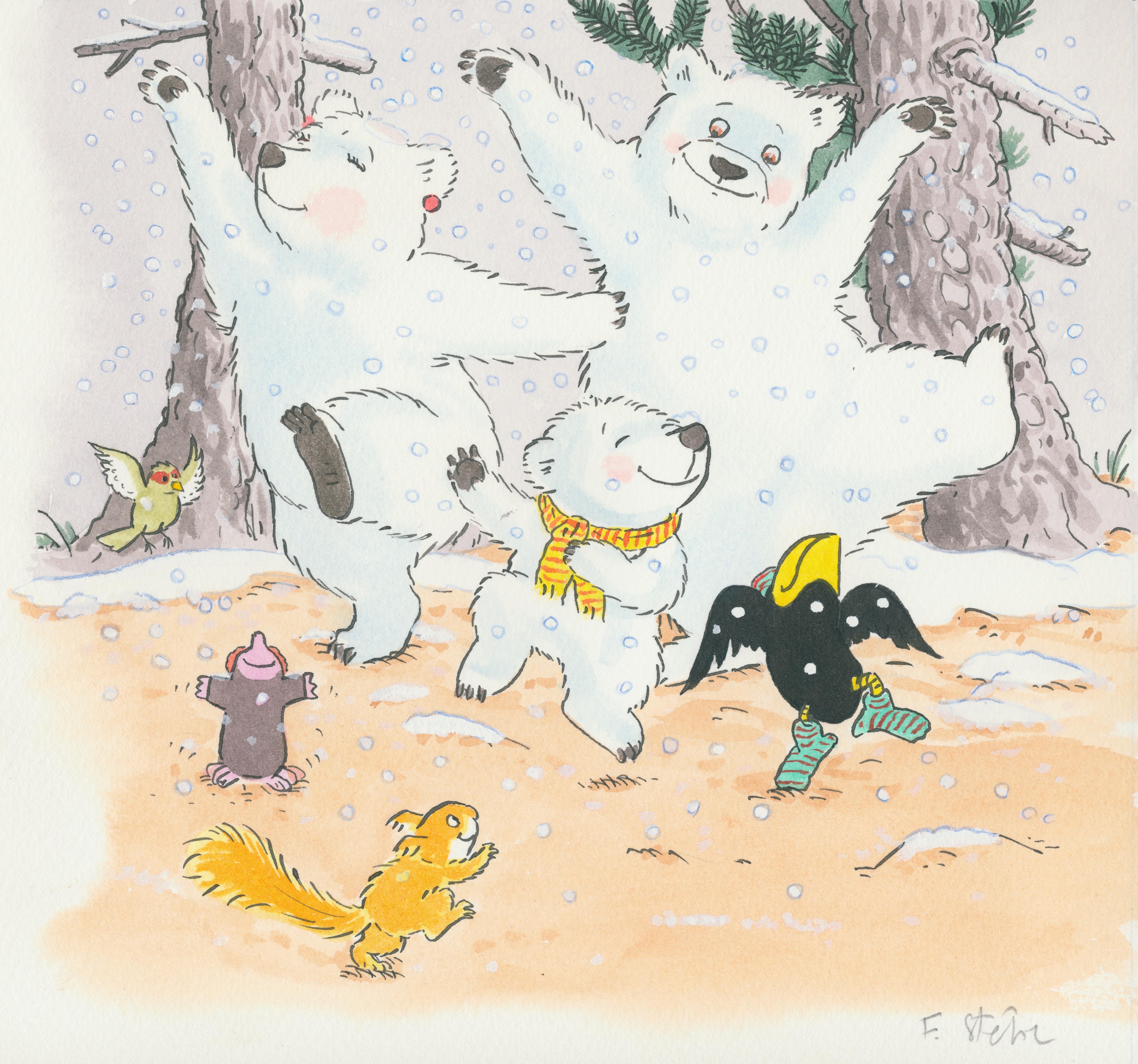 Dansons sous la neige