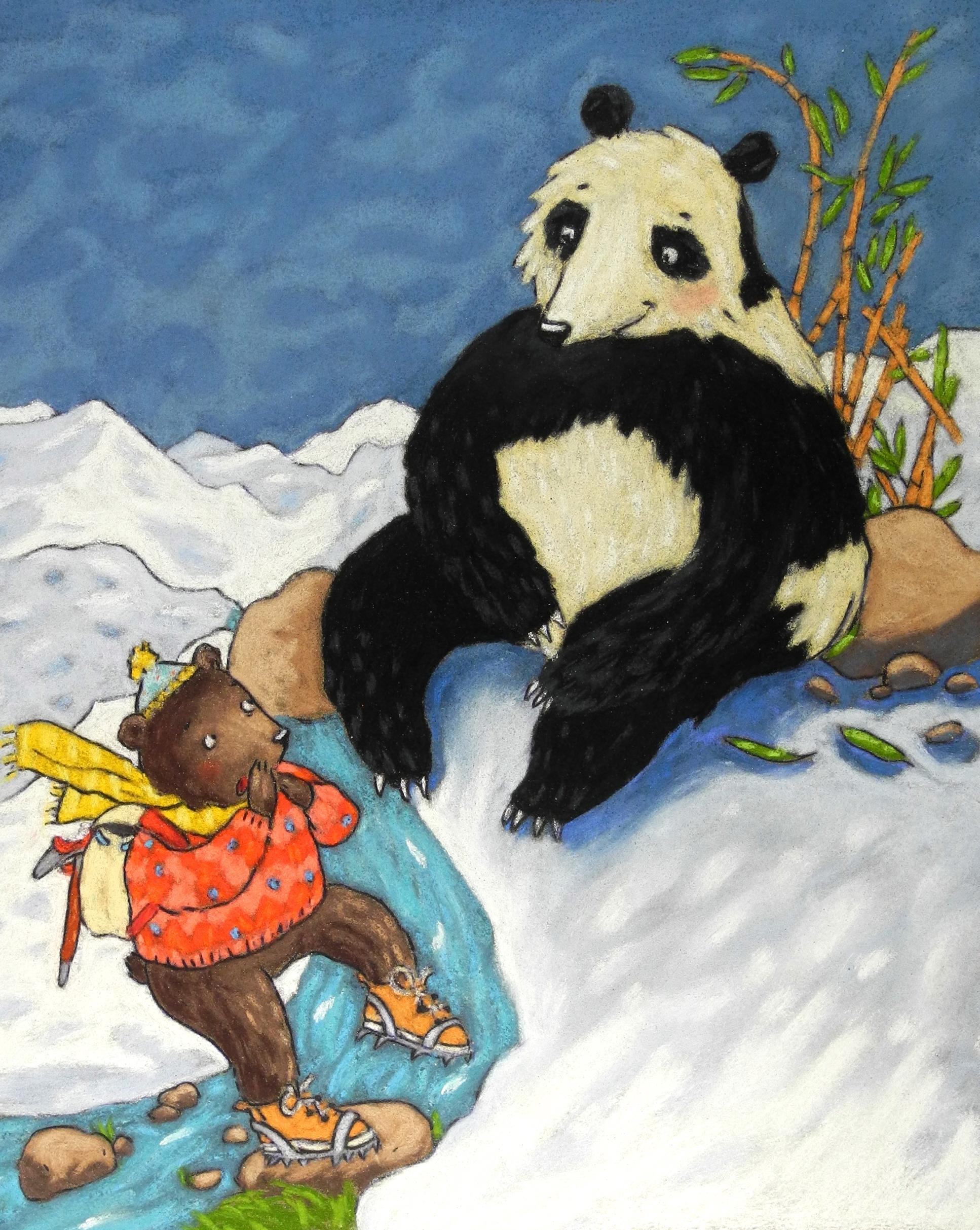 """""""Un Panda nommé Yéti"""""""