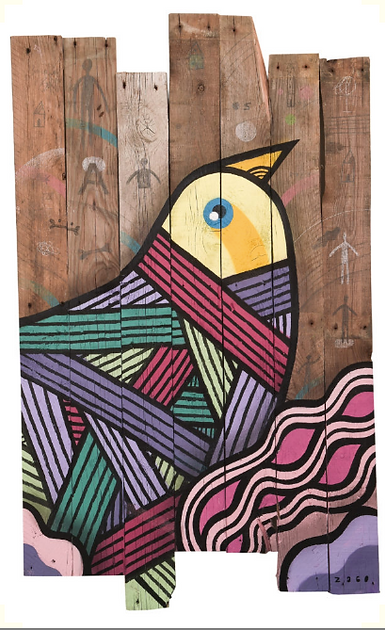Pablito Zago street art woody galerie