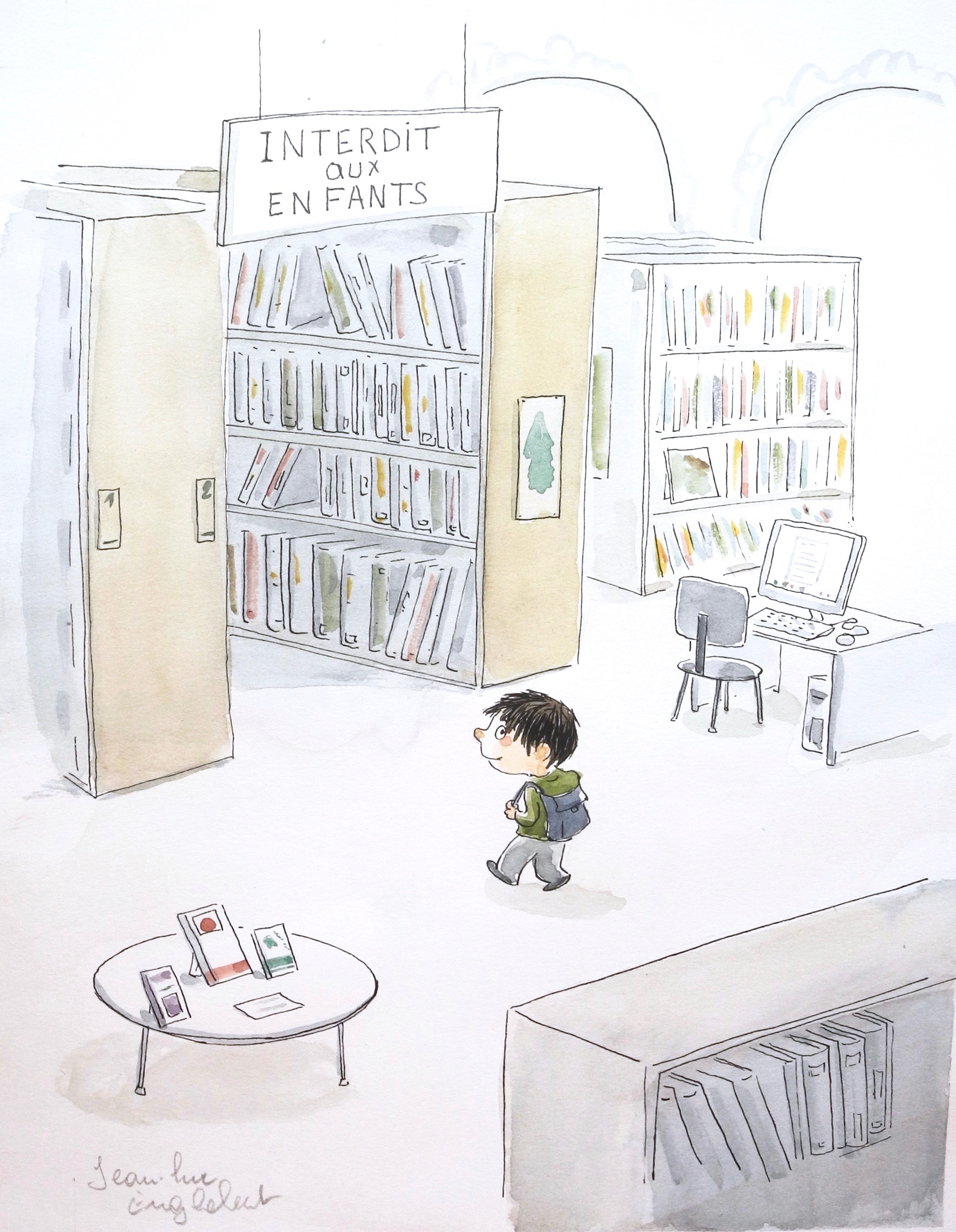 La Bibliothèque 1