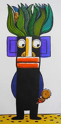dessin original Nathalie Dieterlé woodykids galerie