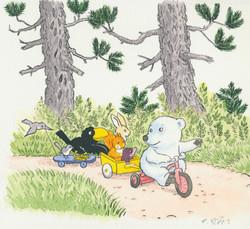 La Balade en tricycle