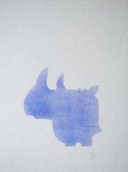 Romi brume bleue