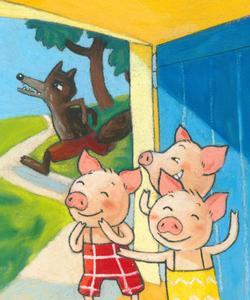 """""""Les trois petits cochons"""" n°1"""