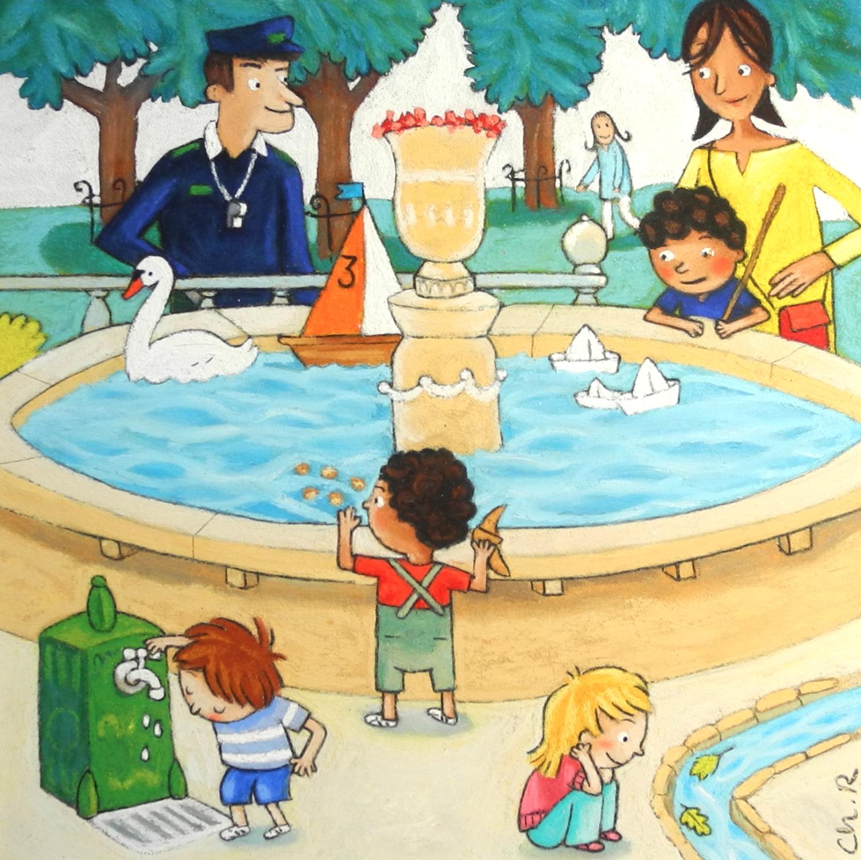Autour du bassin
