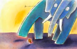 Zékéyé et le gigantesque éléphant