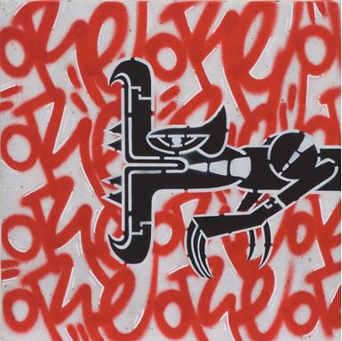 Oré street art woody galerie