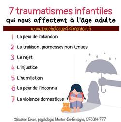 Traumatismes infantiles