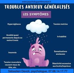Troubles anxieux généralisés