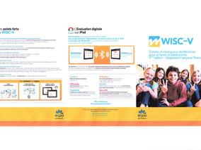 WISC-V - Échelle d'intelligence Wechsler pour enfants et adolescents - 5ème édition. De 6 à 16 ans.