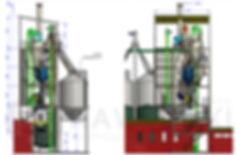 Granulowanie pasz: Wieża produkcyjna dla pasz granulowanych.